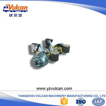 Renewable Design for Modular Free Stitching Trailer -  Semi trailer air suspension3 – Vulcan