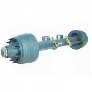 Semi trailer axle3