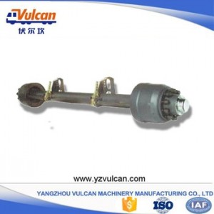 High Quality Truck Trailers -  Semi trailer axle4 – Vulcan