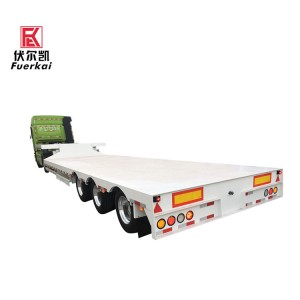 3 axle semi trailer