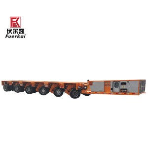 New Fashion Design for 3 Axle Lowbed Semi Trailer - SPMT – Vulcan