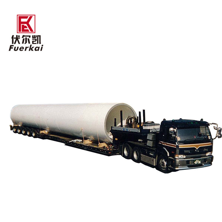 China wholesale Large Cargo Transportation Semi Trailer - Tank,low bed,five axle-Large cargo transportation – Vulcan
