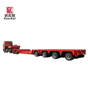 Factory best selling Container Semi Trailer - Various types of barracks transporter  chassis – Vulcan