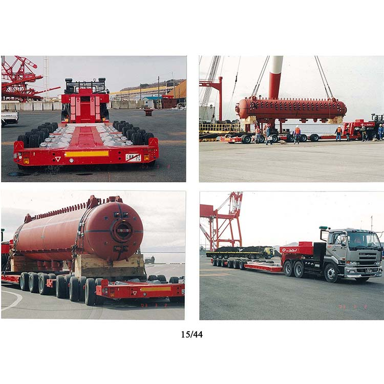 Manufacturer for Container Semitrailer - heavy duty multi axle lowbed semi trailer – Vulcan