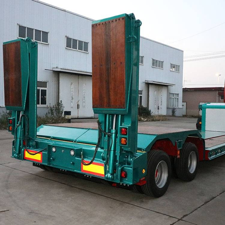 China Cheap price Three/Tri Axle Semi Trailer - Skeleton semi trailer ladder1 – Vulcan