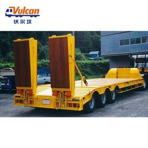 OEM Customized Farm Trailer Flat Trailer - Skeleton semi trailer ladder2 – Vulcan