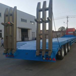 Discountable price Flat Bed Semi Trailer - Skeleton semi trailer ladder3 – Vulcan