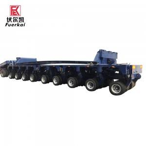 Super Purchasing for Ultra-Low Flatbed Transport Vehicles - Multi axle modular semi trailer – Vulcan