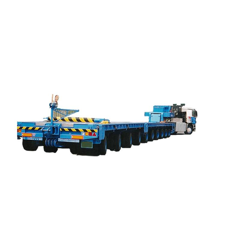 Good Quality Heavy Duty Hydraulic Semi-Trailer - Shipyards,multi axle,cylindrical-Modular free stitching – Vulcan