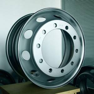 Manufacturer of Semi Truck Trailers - Container semi-trailer steel wheel2 – Vulcan