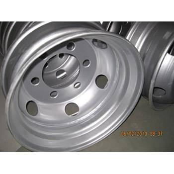 High Quality 3 Axle Semi-Trailer - Container semi-trailer steel wheel4 – Vulcan
