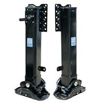 China wholesale Multi Axle Semi-Trailer - Low bed semi-trailer support legs3 – Vulcan