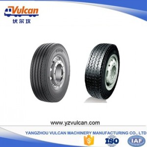 OEM Supply 4 Axles Container Trailer -  Multi axle semi-trailer tyre1 – Vulcan