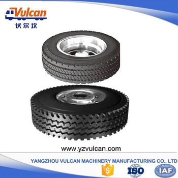 Discount Price Container Semitrailer -  Multi axle semi-trailer tyre2 – Vulcan