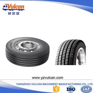 China Cheap price Multi Axle Low Bed Semi Trailer -  Multi axle semi-trailer tyre3 – Vulcan