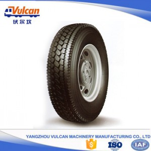 Factory Free sample Semi Trailer Chassis -  Multi axle semi-trailer tyre4 – Vulcan