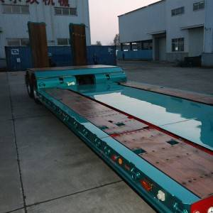 Online Exporter Semi Trailer With Steerable Tires - Full size semi trailer wood floor1 – Vulcan
