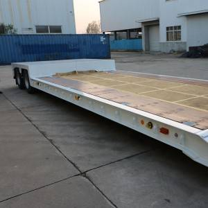 PriceList for High Load Lowbed Semi Trailer -