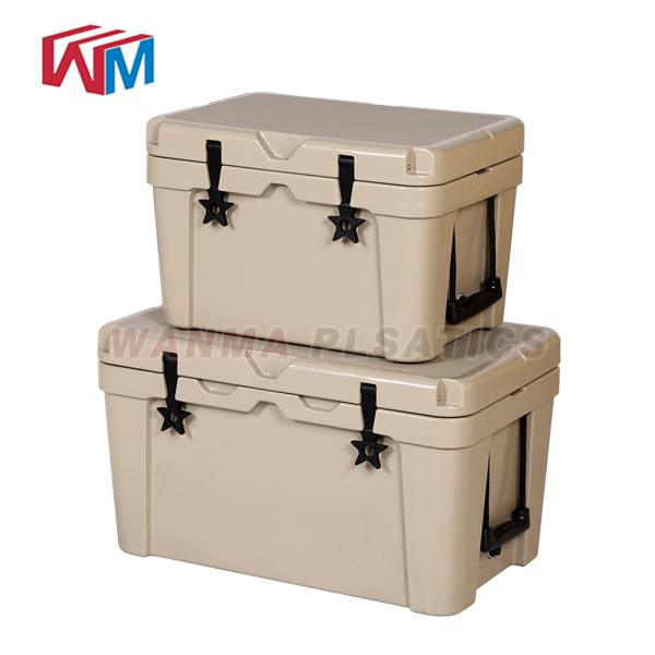 Good Quality Rotomolded Cooler Box With Bluetooth Speaker - 45L Car Cooler Box – Wanma Rotomold detail pictures