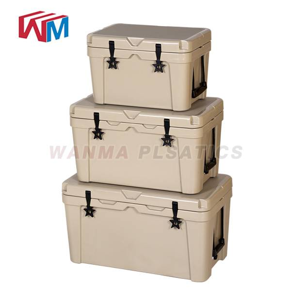Good Quality Rotomolded Cooler Box With Bluetooth Speaker - 45L Car Cooler Box – Wanma Rotomold