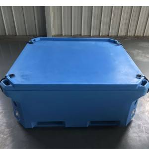 Factory directly supply Ice Cooling Box - 340L insulated plastics container – Wanma Rotomold