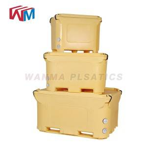 High definition China 1000L Ice Box Specially for Long Way Transportation, Keep Food Cold and Fresh