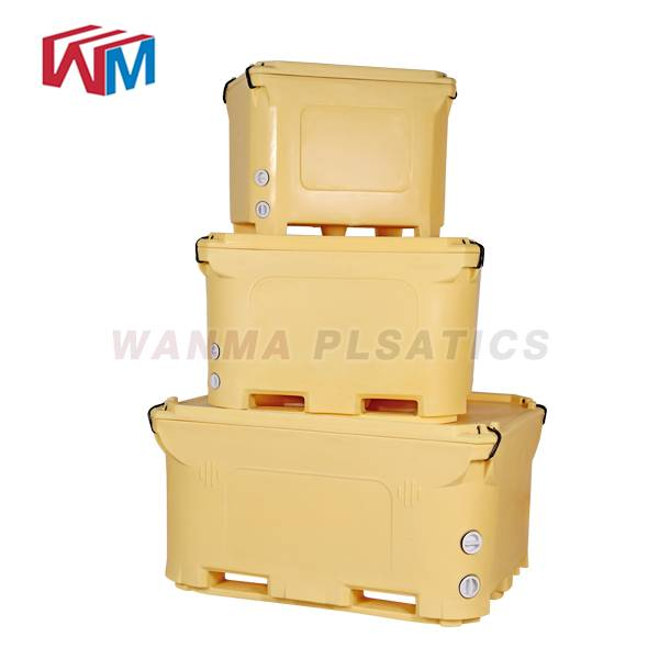 18 Years Factory Multifunction Cooler Box - 1000L  Insulated Pallet Container – Wanma Rotomold