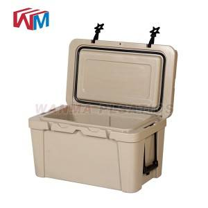 China Factory for Picnic Camping Metal Ice Chest - 25L Small Handle Cooler Box – Wanma Rotomold