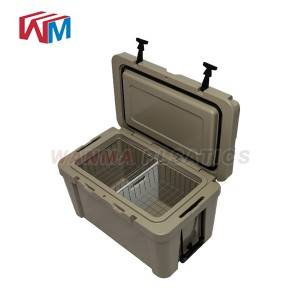 65L Plastic insulated coolers ice box