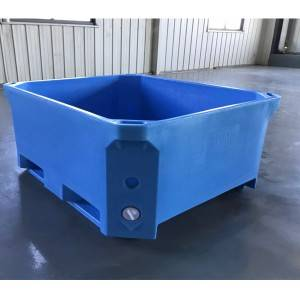 [Copy] 460L PE core heavy duty food container for meat and seafood processing