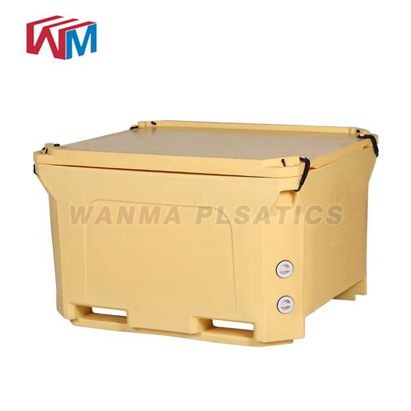 Top Quality Large Food Picnic Cooler Box - 600L  Plastic Cooler container – Wanma Rotomold