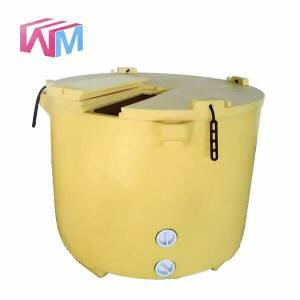 640L rotatiegegoten Fishing Ice Box