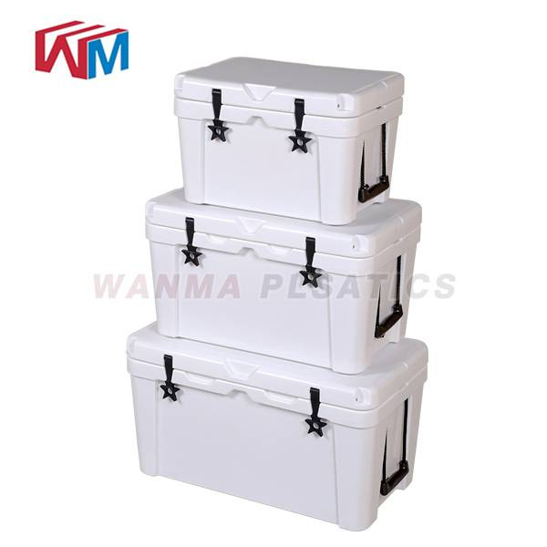 High reputation Insulated Cooler Box - 45L white Picnic Ice Box – Wanma Rotomold