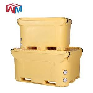 Renewable Design for Outdoor Picnic Ice Box - 1000L  Insulated Pallet Container – Wanma Rotomold
