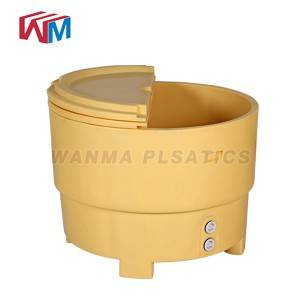 Special Price for Insulated Can Cooler Box - 550L Plastic insulated coolers ice box – Wanma Rotomold