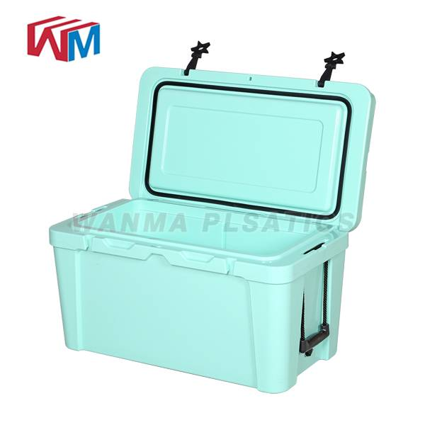 Manufacturer for Thermal Insulated Cooler Bag - 25L Blue Cooler box – Wanma Rotomold detail pictures