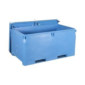 1700L Insulated fish tub specially for Tuna