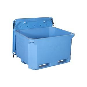 660L insulated pallet container,fish tub,ice box