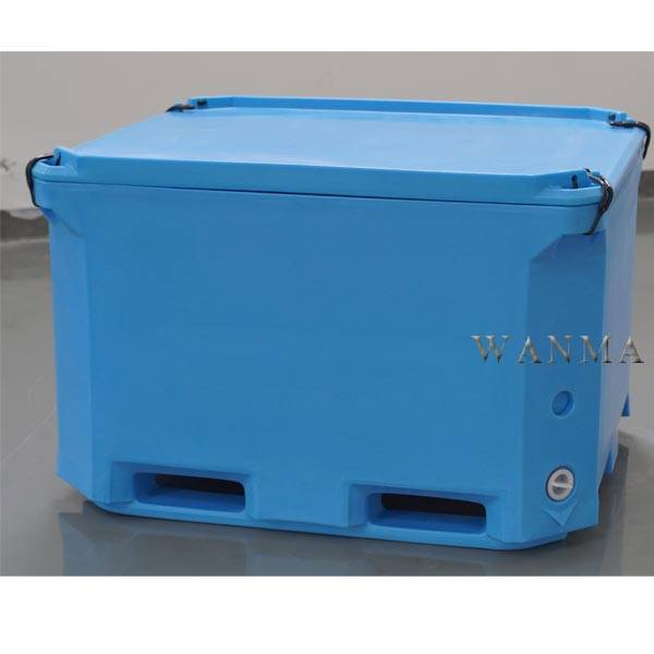 Special Design for Large Seafood Ice Container - 660L Insulated Refrigeratory Container – Wanma Rotomold