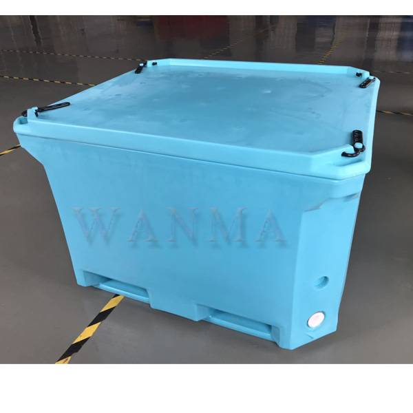 Special Price for Big Ice Cooler Box - 660L Rotomold fish container – Wanma Rotomold Featured Image