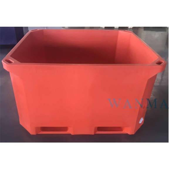High definition Cubic Cooler Box - 660L insulated food container – Wanma Rotomold