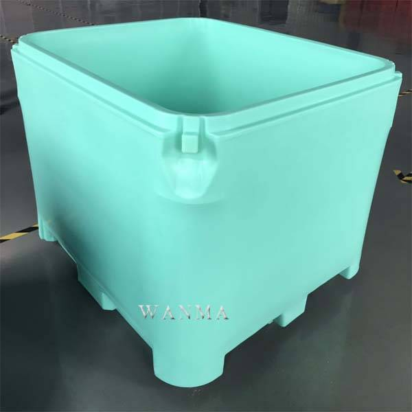 Special Design for Large Seafood Ice Container - 800L insulated fish container – Wanma Rotomold