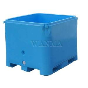 Competitive Price for Insulated Pallet Container - 800L insulated fish container – Wanma Rotomold