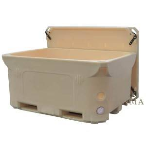 High Performance Rotomolded Seafood Container - 1000L rotomold insulated bulk container – Wanma Rotomold