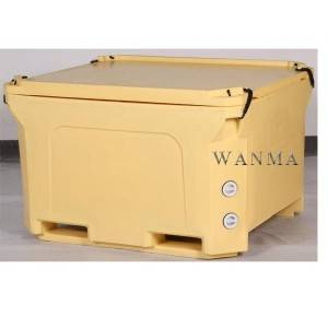 OEM/ODM Manufacturer Fishing Ice Box - Double Wall 660L Bulk Insulated Container for Food Processors, Seafood Processors and Wineries – Wanma Rotomold