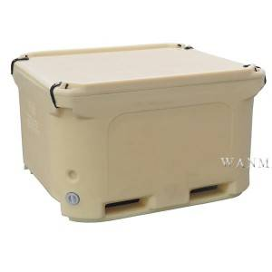 CE Certificate China Double Wall 660L Bulk Insulated Container for Food Processors, Seafood Processors and Wineries