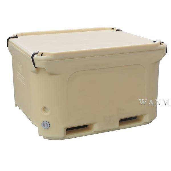 Special Design for Large Seafood Ice Container - 660L Insulated plastics container – Wanma Rotomold