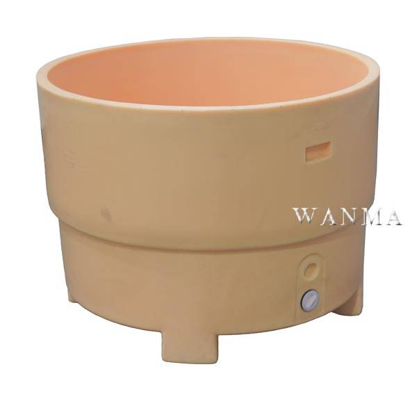 Factory making Small Cooler - 550L Insulated fish tubs – Wanma Rotomold