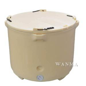 640L insulated fish tubs