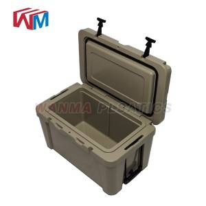 Wholesale Dealers of Plastic Inner Metal Cooler Box - 25L Cooler Box For Camping – Wanma Rotomold